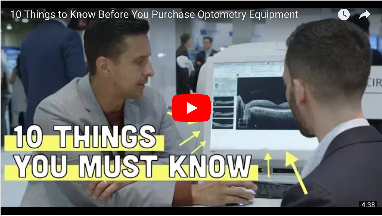 10 Things to Know Before You Purchase Optometry Equipment