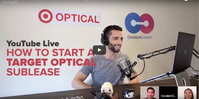 2 Target Optical Sublease Optometrists Spill it All on YouTube