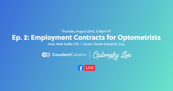 Ep. 2: Everything You Should Know About Optometrist Employment Contracts
