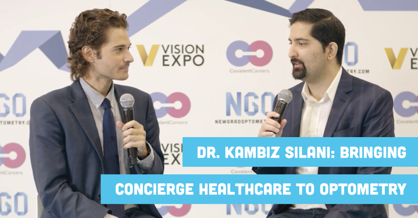 Dr. Kambiz Silani Bringing Concierge Healthcare to Optometry