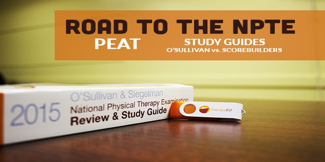 Road to the NPTE: PEAT & Which Study Guide to Use