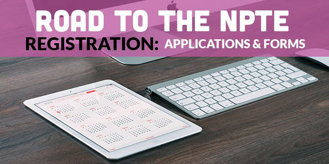 Road to the NPTE: Registration | CovalentCareers