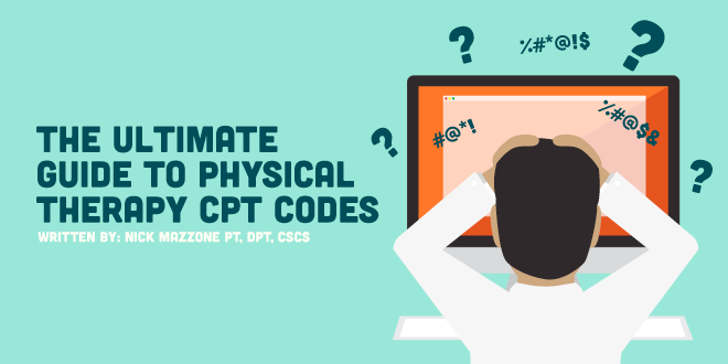 physical therapy cpt codes therapeutic exercise
