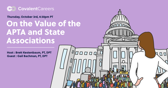 On the Value of the APTA and State Associations — Free Webinar