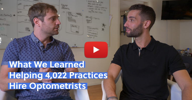 What We Learned Helping 4,022 Practices Hire Optometrists