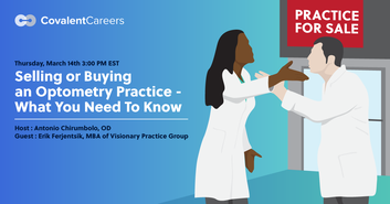 What You Need to Know About Selling and Buying Optometry Practices