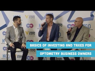 Investing and Taxes for Optometry Business Owners