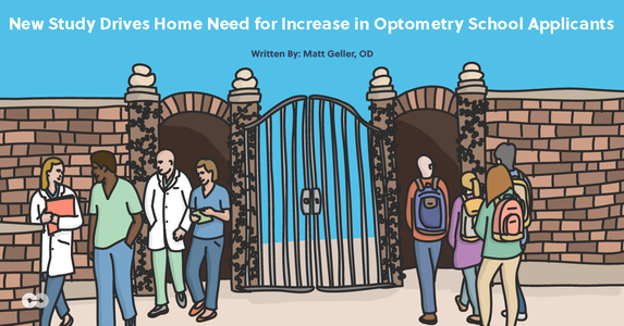 New Study Drives Home Need for Increase in Optometry School Applicants