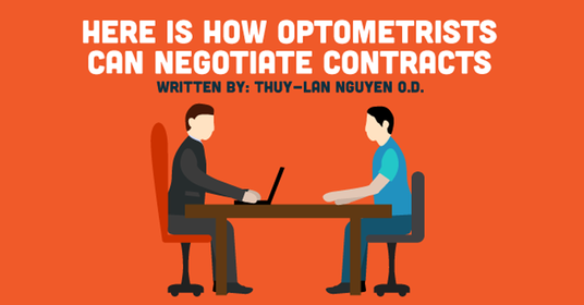 Here Is How Optometrists Can Negotiate Contracts