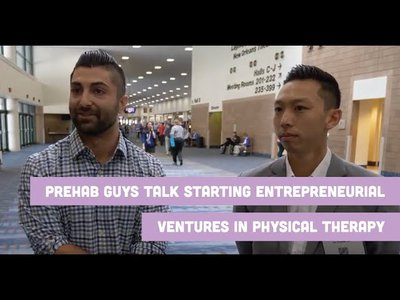 Prehab Guys Talk Starting Entrepreneurial Ventures In PT