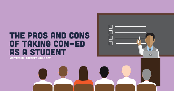 The Pros and Cons of Taking CEUs As A PT Student