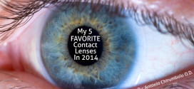 My 5 Favorite Contact Lenses for 2014