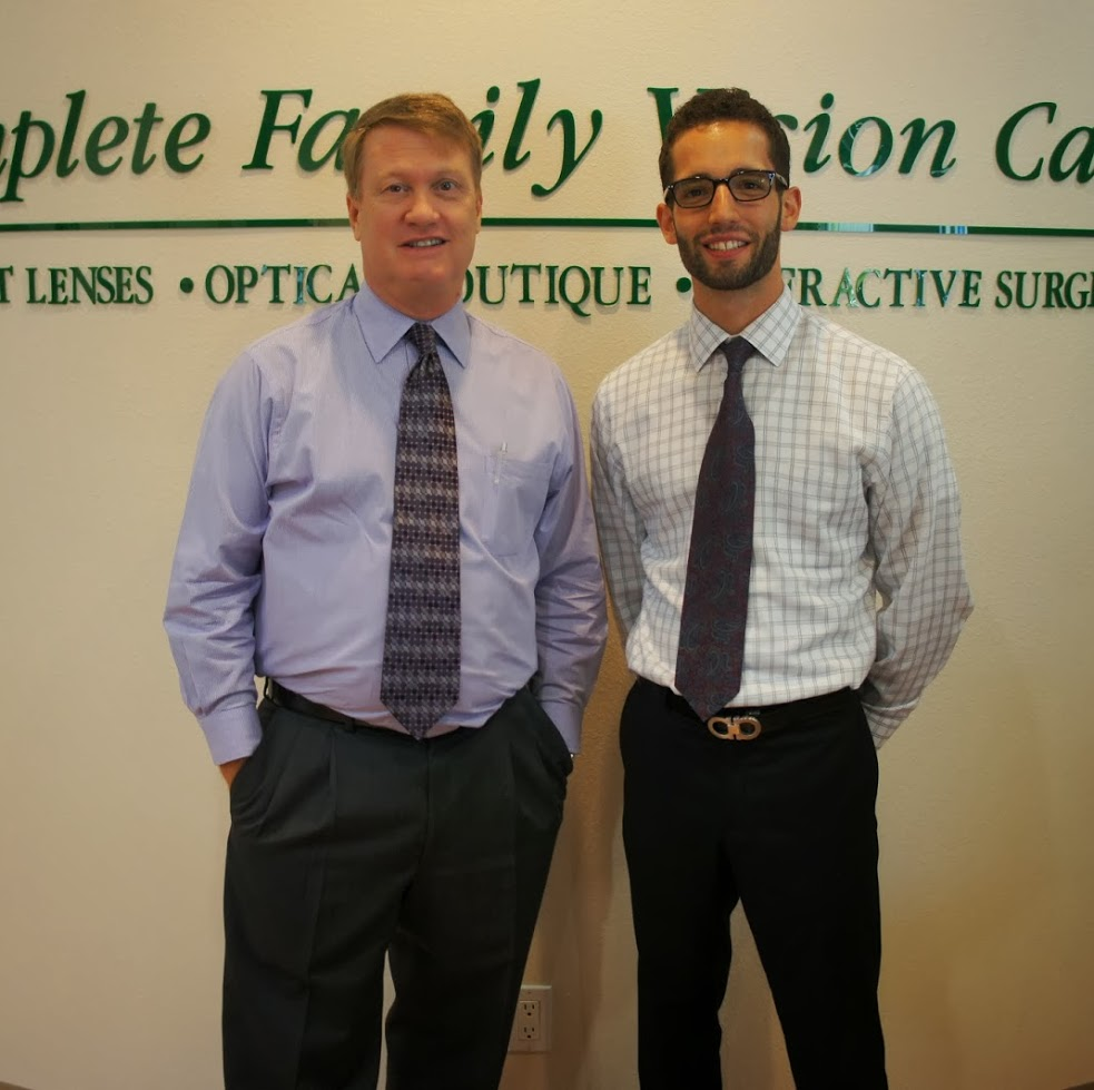 Dr. Matthew Geller and Dr. Eric White Photo