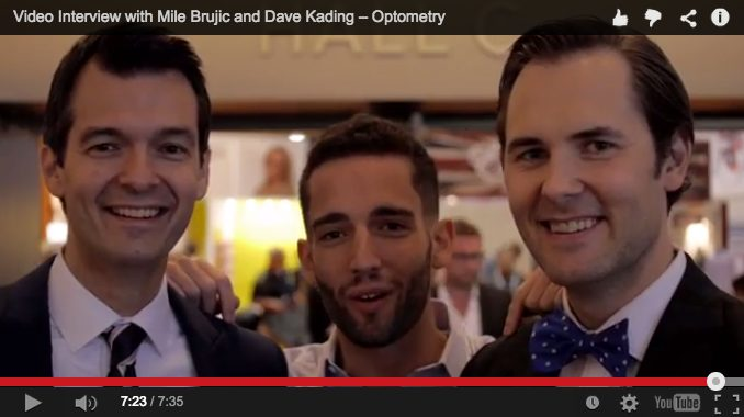 Video Interview with Mile Brujic and Dave Kading – Optometry