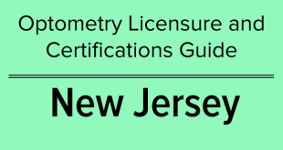 New Jersey – Optometry Licensure and Certifications Guide