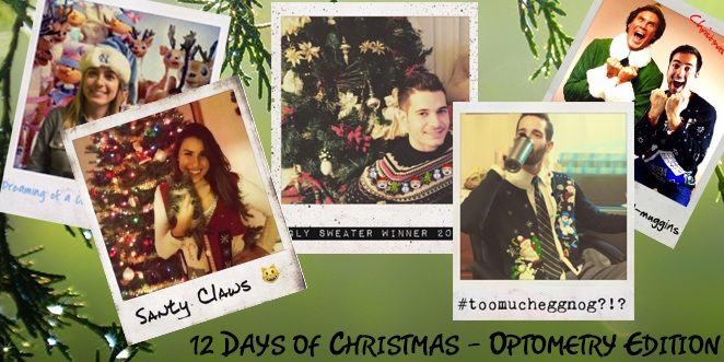 "NGO Presents: ""12 Days of Optometry Christmas"""