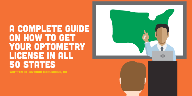 A Complete Guide On How To Get Your Optometry License In All 50 States