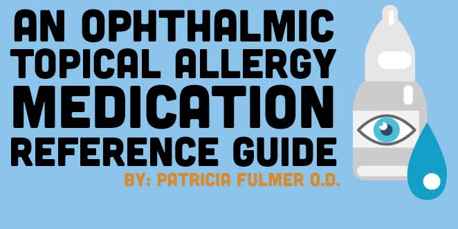 topical ophthalmic medication guide