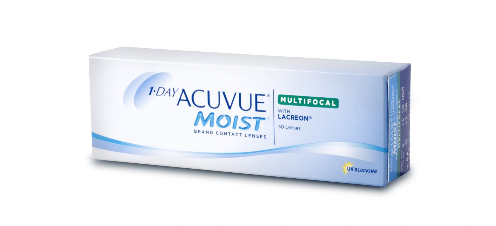 The New ACUVUE ® 1-Day MOIST® Brand Multifocal: The Best Option Yet for Presbyopes