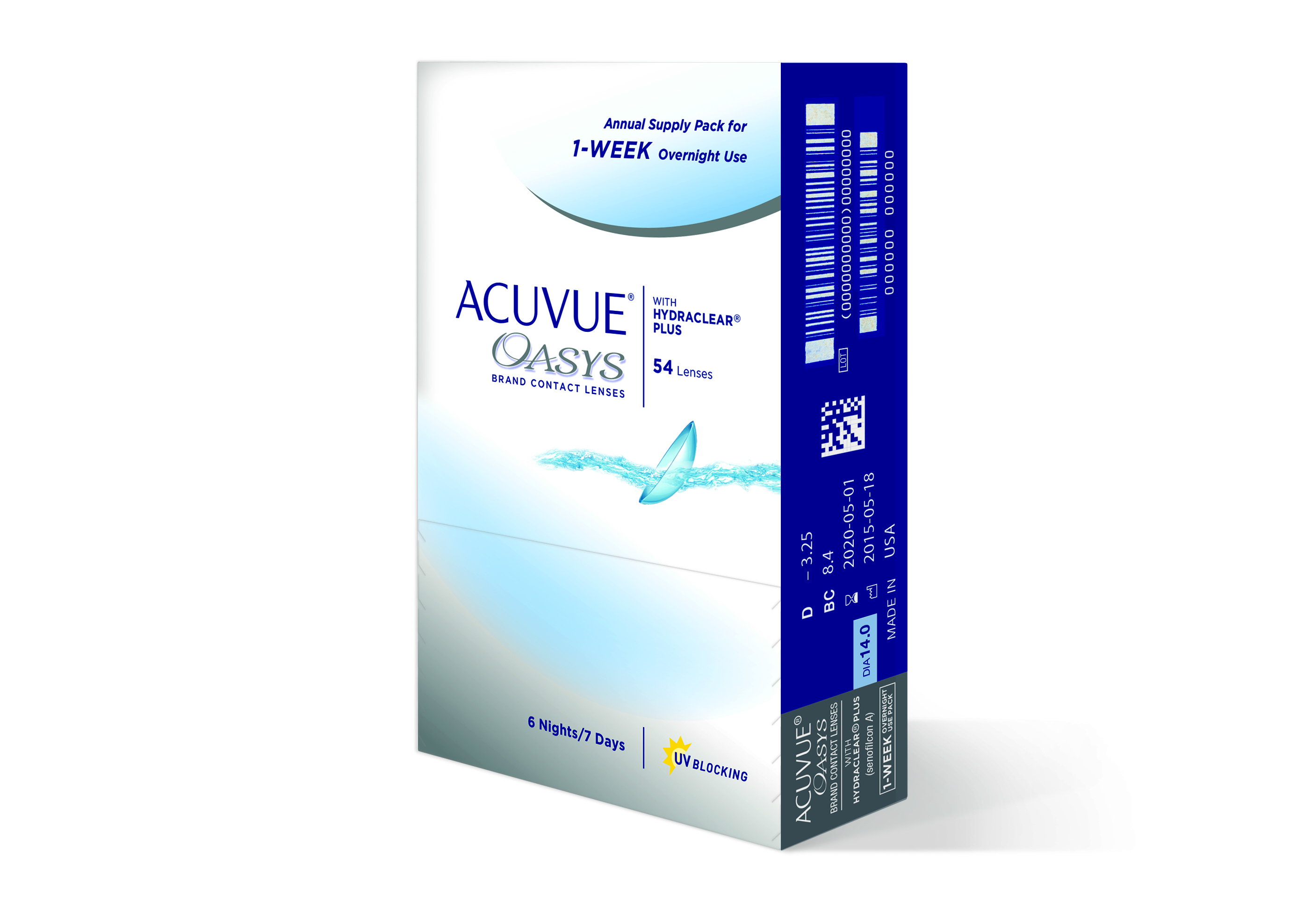 Acuvue Oasys® Brand Contact Lenses for Extended Wear
