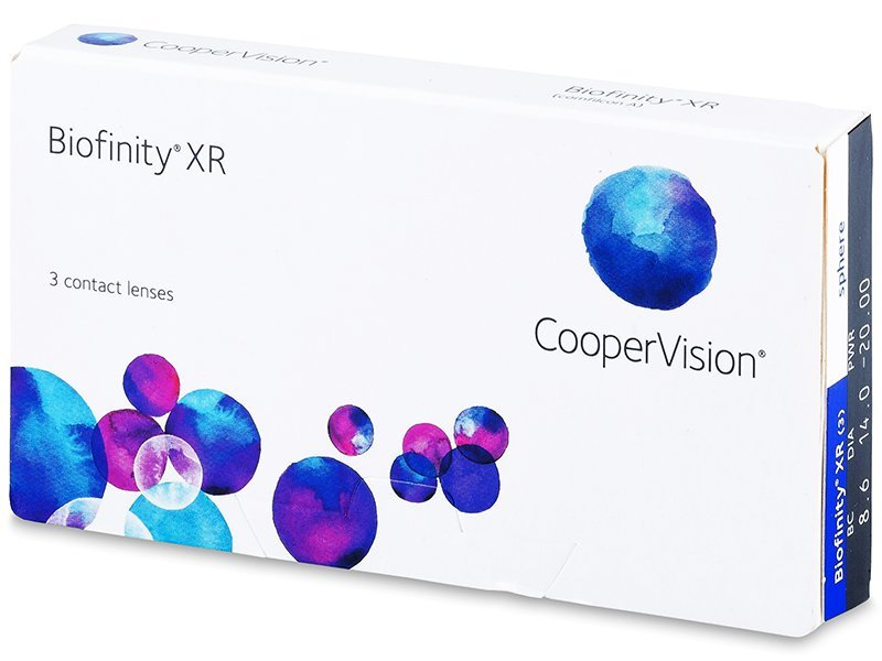 biofinity xr cooper vision contact lens