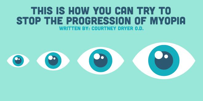 This is How You Can Try to Stop the Progression of Myopia