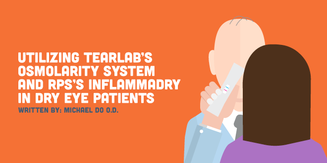 Utilizing TearLab's Osmolarity System and RPS's InflammaDry in Dry Eye Patients