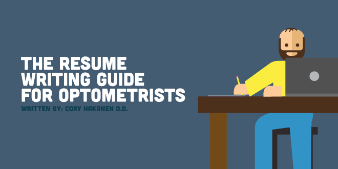 The Resume Writing Guide for Optometrists