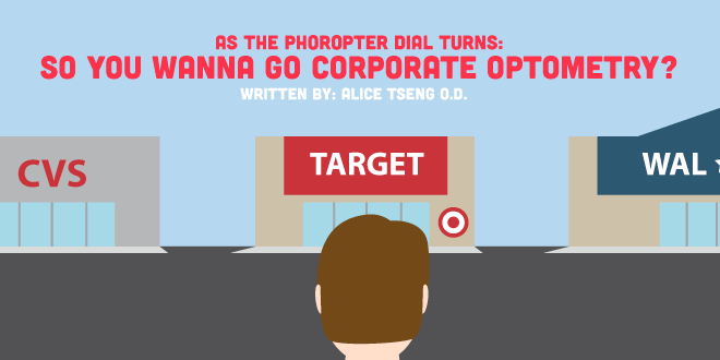 As the Phoropter Dial Turns: So You Wanna Go Corporate Optometry?