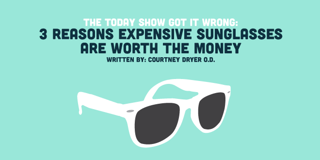 Expensive Sunglasses Worth It  the today show got it wrong 3 reasons expensive sunglasses are
