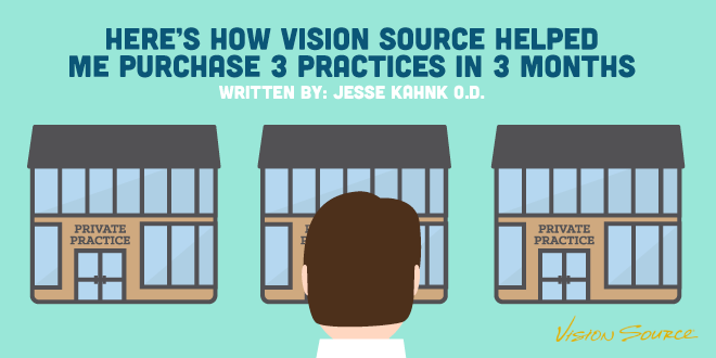 Here's How Vision Source Helped Me Purchase 3 Practices in 3 Months