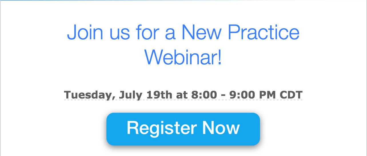 Considering Opening a Practice? You'll Want to Check Out This Webinar!