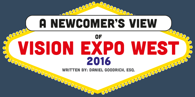 A Newcomer's View of Vision Expo West 2016