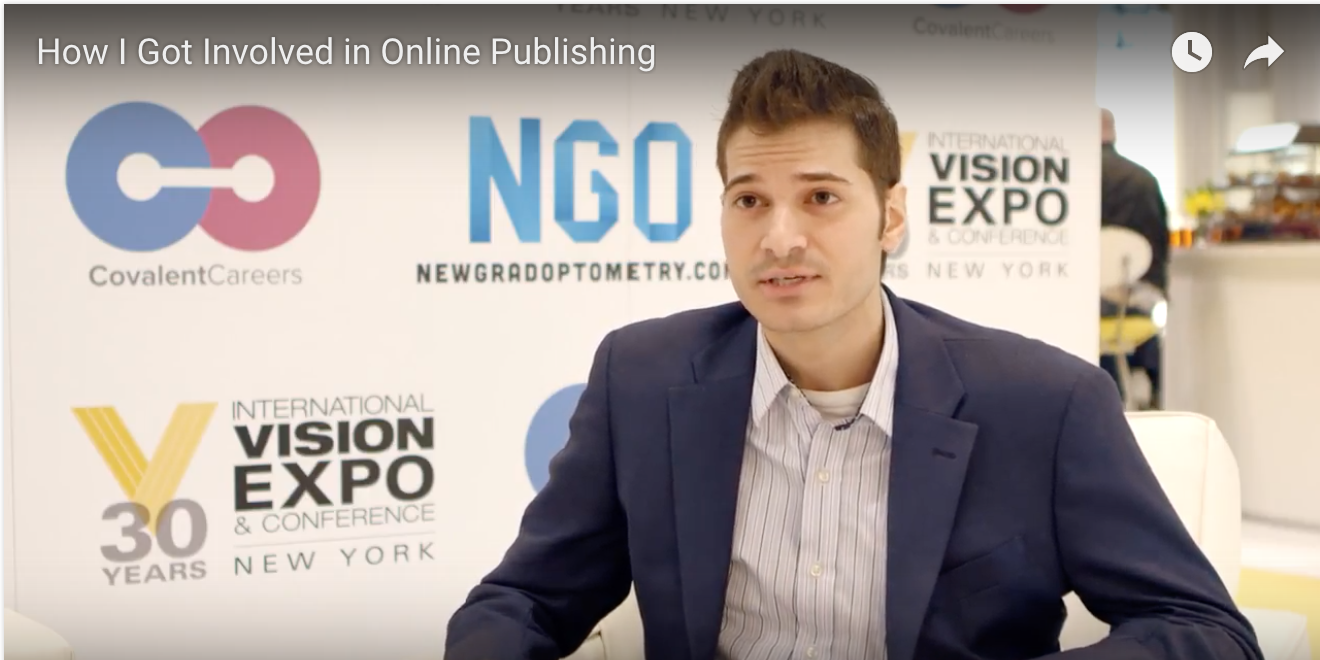 How I Got Involved In Online Publishing – Video Interview with Antonio Chirumbolo O.D.