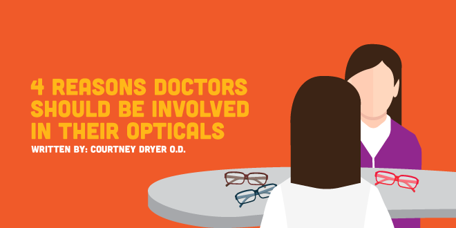 4 Reasons Doctors Should Be Involved in Their Opticals