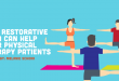 Restorative Yoga for physical therapy