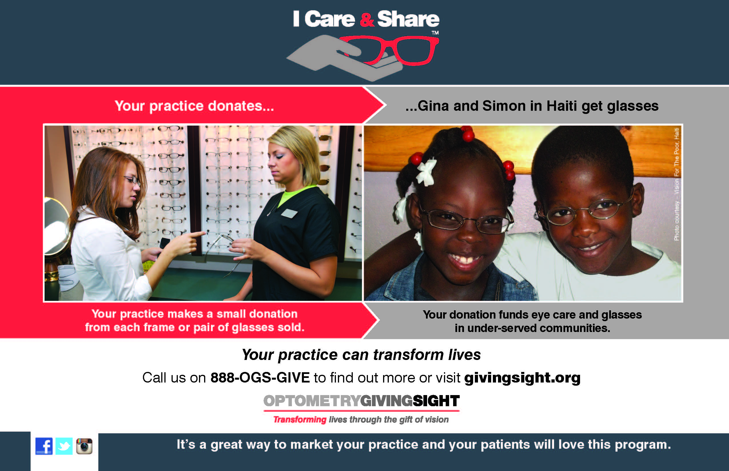 I Care & Share – Giving Back with The Gift of Vision