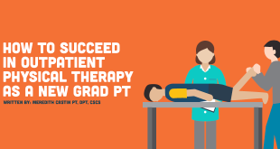 outpatient physical therapy new grad