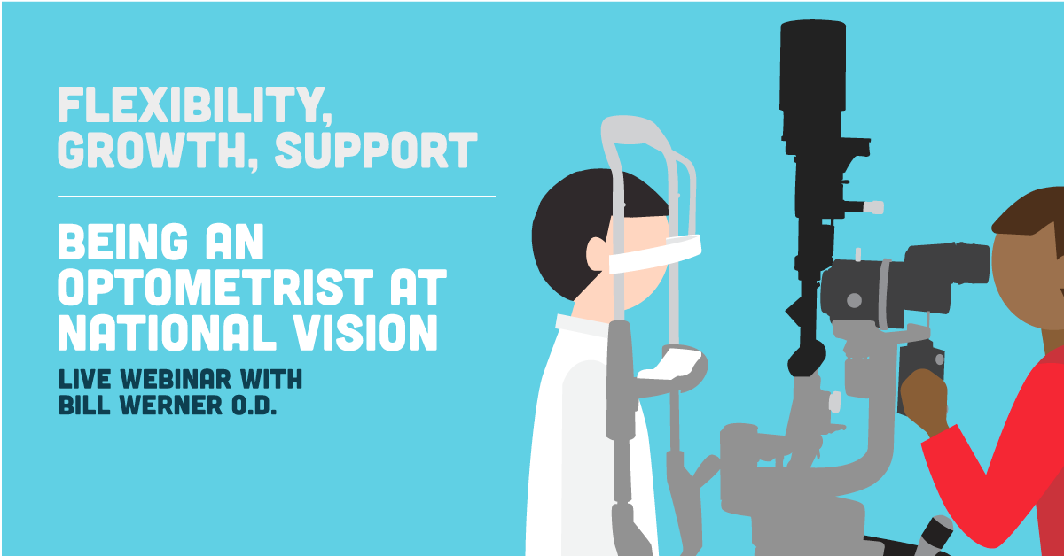 flexibility, growth, support - being an optometrist at national, Human Body