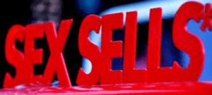 sex sells sign