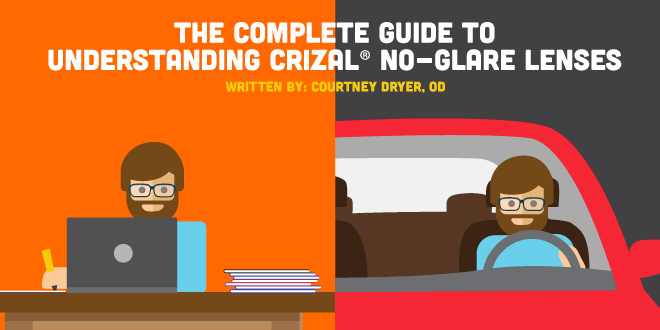 91a7ab42dc7 Complete Guide to Understanding Crizal ® No-Glare Lenses ...