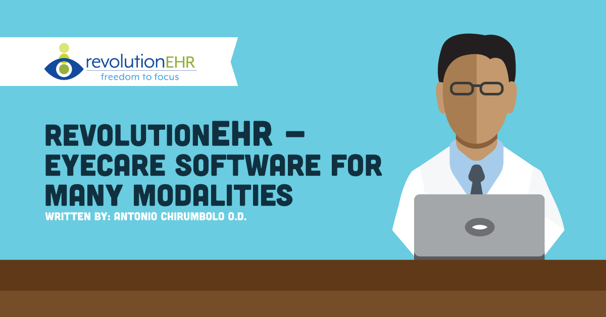 RevolutionEHR - Eyecare Software for Many Modalities