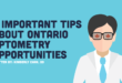 Ontario optometry