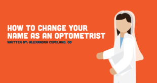 How to Change Your Last Name as an Optometrist