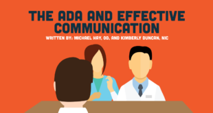 What ODs Need To Know About The Americans with Disabilities Act (ADA) And Effective Communication