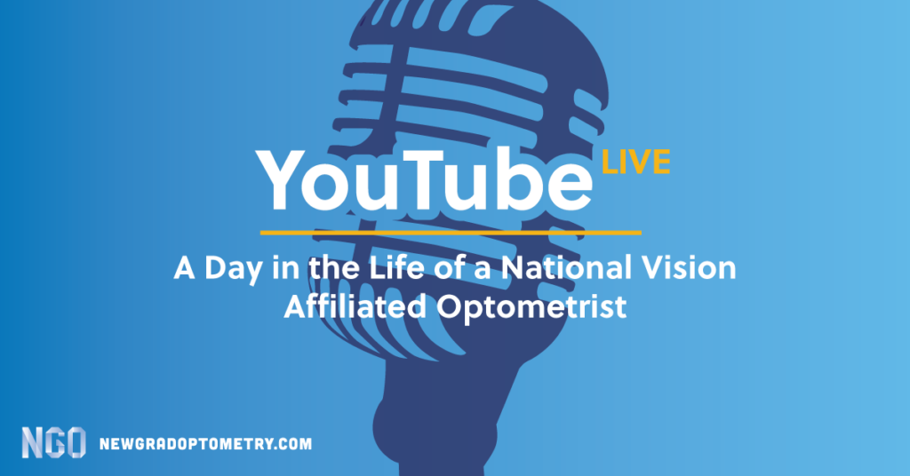 day in life of national vision affiliated OD