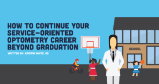 how to continue your service-oriented optometry career beyond graduation