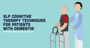 slp cognitive therapy techniques for patients with dementia