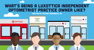 what's being a luxottica independent optometrist practice owner like