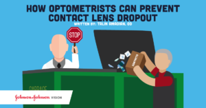 how optometrists can prevent contact lens dropout